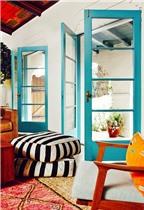 9 ý tưởng sử dụng màu sơn cho cánh cửa đẹp và lạ