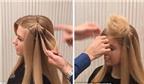 Kỳ diệu cách làm mũ đội đầu từ chính tóc của bạn