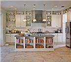 Mách bạn cách sắp xếp để phòng bếp gọn gàng hơn