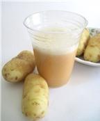9 cách làm đẹp siêu đơn giản chỉ từ 1 củ khoai tây
