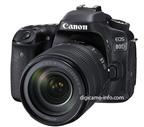 Canon 80D lộ diện, cảm biến 24.2MP