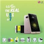 LG tranh thủ đá xoáy Galaxy S7 trong poster mới