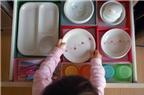 5 ý tưởng thú vị trong bếp cho gia đình có trẻ nhỏ