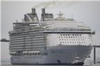 Tàu du lịch lớn nhất thế giới chính thức nhổ neo