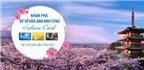 Cơ hội du lịch Nhật Bản cho khách mở thẻ MB Sakura