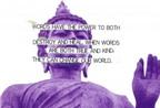 Câu nói tiếng Anh khuyên sống tốt của Đạo Phật