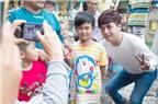 Sau chuyến du lịch, Hồ Quang Hiếu ghé thăm trẻ em bất hạnh