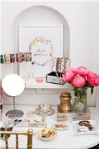 22 cách decor bàn trang điểm sang chảnh khiến phái đẹp phải khát khao