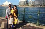 Lý Hải đưa gia đình du lịch Australia