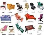 Từ vựng 15 loại ghế trong tiếng Anh