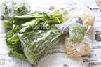 Cách bảo quản giữ rau tươi