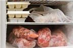 Những sai lầm khi bảo quản thức ăn trong ngăn đá