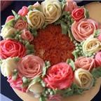 Thành viên vào Bếp: Làm xôi nếp hoa đẹp tuyệt