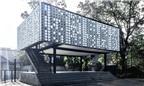 Độc đáo thư viện làm từ 2000 vỏ hộp kem ở Indonesia