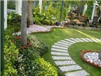 Gợi ý cách bố trí cho tiểu cảnh sân vườn