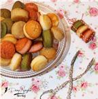 Thành viên vào Bếp: Bánh pomponettes xinh xắn, đa vị