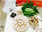 Mắm chua thịt luộc ngon nhất Sài Gòn – Giá: 130.000 VND