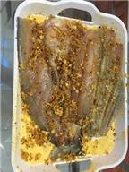 Khô cá dứa ướp sate cay, ngon cực