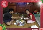Hạnh phúc bên bữa cơm gia đình