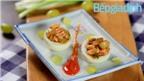 Món ngon cho bé: Gà rim nho nhồi trứng hấp dẫn