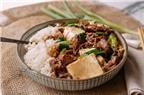 Món ngon mỗi ngày: Thịt bò xào đậu phụ