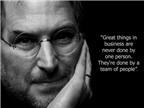 Học tiếng Anh qua những câu nói bất hủ của Steve Jobs