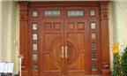 Những tiêu chí chọn mua cửa gỗ theo phong thủy
