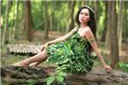 Cháu gái Vũ Linh hóa thành thôn nữ trong MV