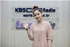 Chi Pu trả lời phỏng vấn đài KBS sau chiến thắng tại Asia Artist Awards 2016