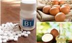 Nghiền nát 20 viên vitamin B1 rồi trộn thứ này đem tắm, da đen bẩm sinh như Bao Công cũng trắng bóc 3 tông trong 1 tuần