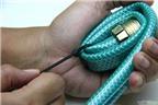 Cách làm giỏ đựng đồ bằng ống dẫn nước độc đáo