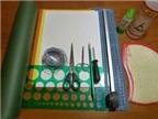 Cách làm hoa cúc bằng giấy từ việc cắt giấy