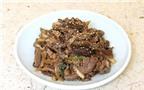 Cách làm thịt bò thăn ướp xào kiểu Hàn