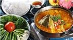 Cuối tuần hấp dẫn với cách nấu lẩu cá lăng măng chua tuyệt ngon