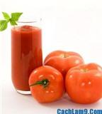 Đẹp da, chuẩn dáng với cách làm sinh tố cà chua cực đơn giản