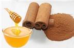 Mặt nạ mật ong, hạt nhục đậu khấu và quế cho da mụn