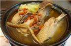 Món ăn bổ từ thịt ngỗng