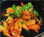 Món ngon: Nấm kho cá lóc