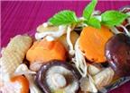 Các món ngon từ thịt gà và nấm