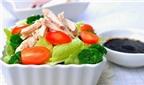 Salat gà đủ dinh dưỡng cho người ăn kiêng