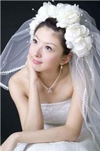 Phong cách trang điểm trong suốt cho cô dâu