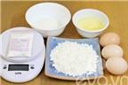Cách làm bánh gato Nhật Bản nhẹ như bông