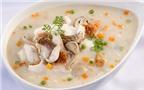 Cháo cá nấu bắp nếp thơm ngon
