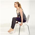 Năm động tác yoga 'ngồi tại chỗ' dành cho các chị em công sở