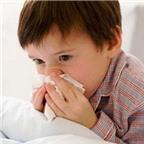 Cách trị nghẹt mũi tại nhà cho trẻ nhỏ