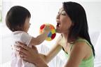 Dạy bé tập nói và những điều mẹ cần tránh