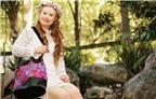 Cô gái mắc bệnh Down làm người mẫu cho một thương hiệu thời trang