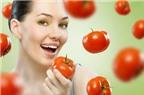 Những mẹo đơn giản làm trắng da với cà chua