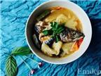 Canh cá saba nấu mẻ ngon mát dễ ăn