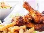 Hạn chế ăn thức ăn chiên sẵn, thức ăn nhanh